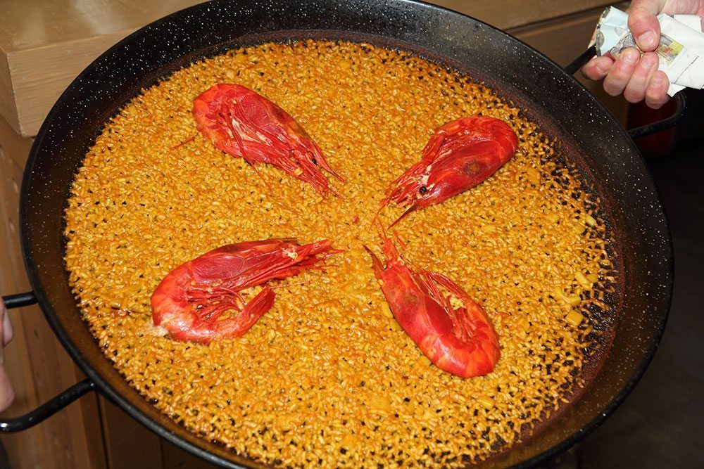 Restaurante de cocina mediterránea en Valencia